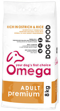 Superior pet food | Omega Adult Premium 8kg bag